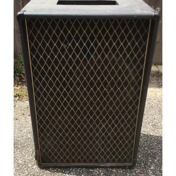 "Custom Empty Vox V1041 60s 2 12"" guitar speaker cabinet original made in ENGLAND"