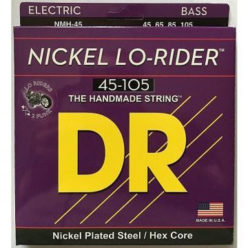 Custom DR NMH-45 Nickel Lo-Riders BASS Guitar Strings (45-105) medium gauge