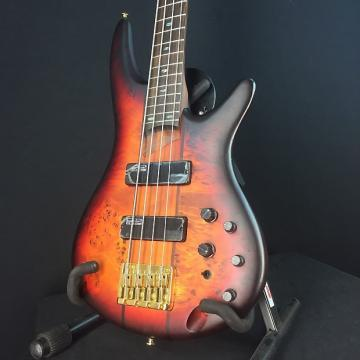 Custom Ibanez SR800 4-String Bass 2016 Aged Whiskey Burst, Bartolini Pickups