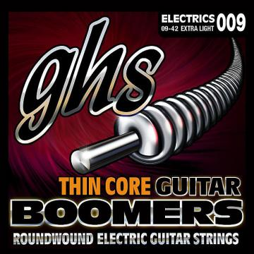Custom GHS Thin Core Boomers Electric Guitar Strings TC-GBXL 9-42 extra light 9-42