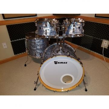 Custom Eames Naturaltone 4 piece shell-pack PBD wrapped
