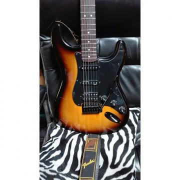 Custom Squier Hss Bullet Fully Upgraded Stratocaster Squier  2014 Caramel Burst