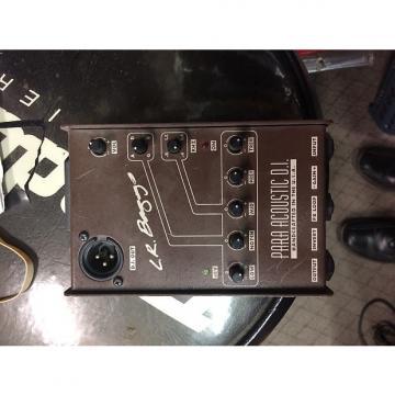 Custom LR Baggs Para Acoustic D.I. Antique Brown