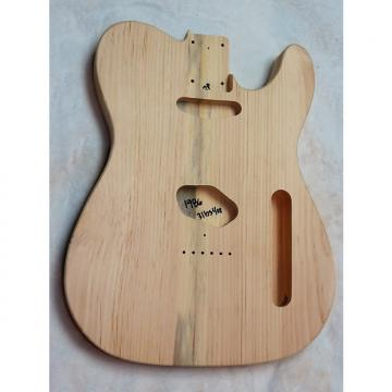 Custom 2 Piece Aged Pine Telecaster Tele Body  3lbs 4oz PROJECT  #1986