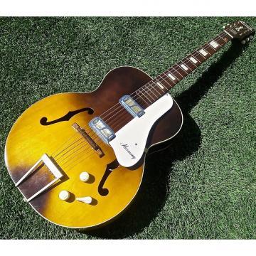 Custom 1965 Harmony H41 Hollywood Sunburst Gold Foil Pickups