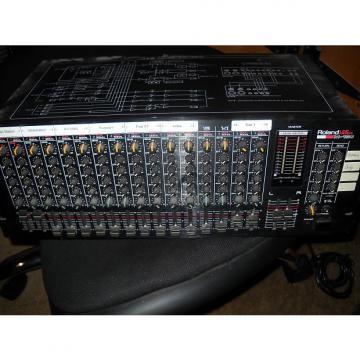 Custom Roland M-160 Rack Mountable sixteen-channel Line Mixer..Rare Vintage!