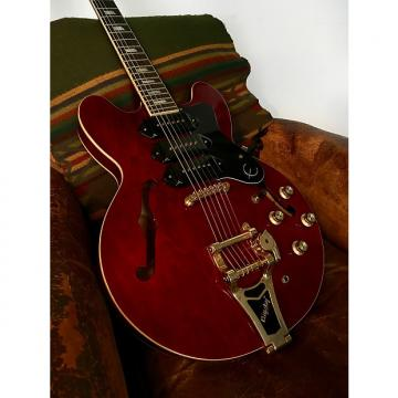 Custom Epiphone Riviera P-93 2013 Red Wine