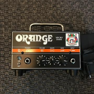 Custom Orange Amps Micro Dark 20-watt Hybrid Head