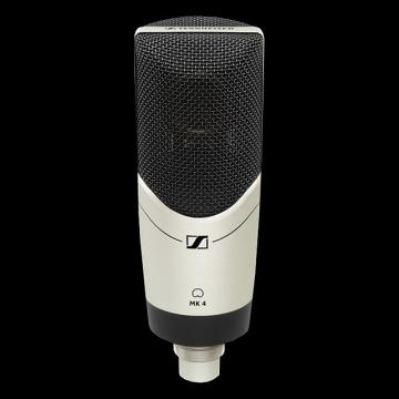 Custom Sennheiser MK4 Large Diaphragm Condenser Microphone - Mint Condition with 6 Month Alto Music Warranty!