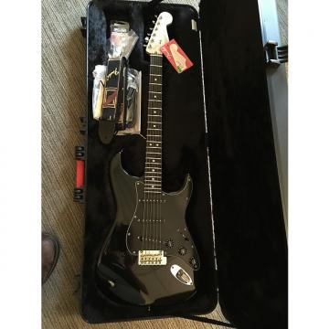 Custom Limited edition American Std. Blackout Stratocaster with ebony fingerboard and OHSC