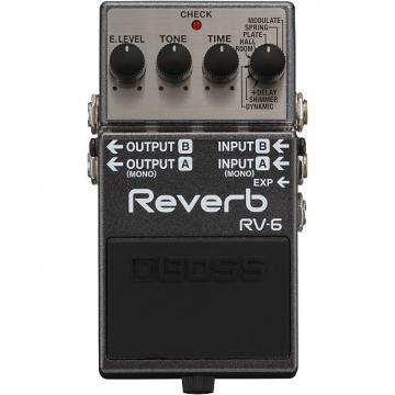 Custom Boss RV-6 Reverb 2017 Grey