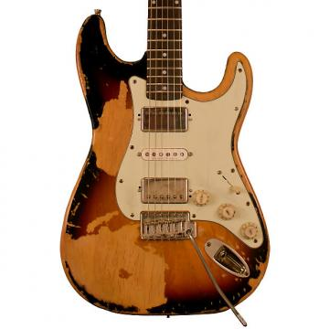 Custom Sawtooth Americana Relic Series ES Electric Guitar with Pro Series Strat/Tele Body Style Hard Case,