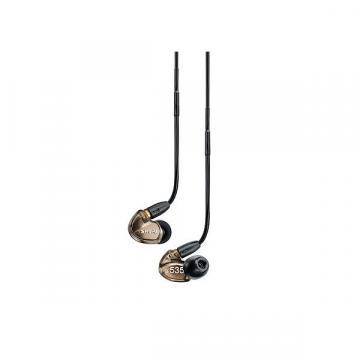 Custom Shure SE535 Sound Isolating Earphones - Metallic Bronze