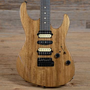 Custom Suhr Custom Modern Black Limba Natural 2016 (s393)