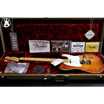 "Custom FENDER USA LTD Select Telecaster AAA+ ""Honey-Burst + Maple"" (2015)"