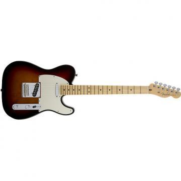 Custom Fender American Standard Telecaster® Maple Fingerboard 3-Color Sunburst - Default title