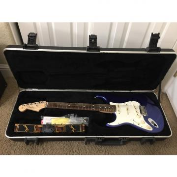 Custom Left Handed (lefty) Fender American Stratocaster 2013 Blue