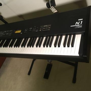 Custom Korg N1 Keyboard Synth 1997 Black