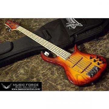 Custom F-Bass BN5 2014 Auburn Burst