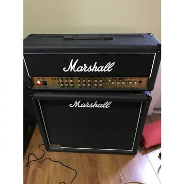 Custom Marshall TSL 100 JCM 2000 Triple Super Lead Head 2006 Black & Gold with 1936 Marshall Cabinet