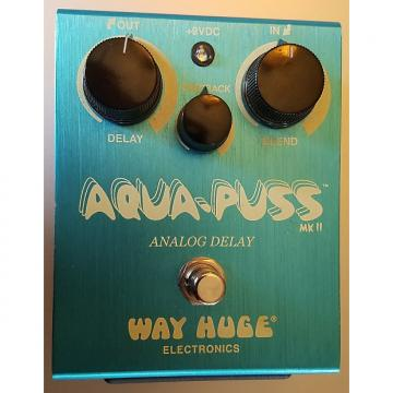 Custom Way Huge Aqua-puss  Aqua blue