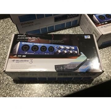 Custom PreSonus AudioBox 44VSL Brand new in the box with Studio One 3.0 Artist included