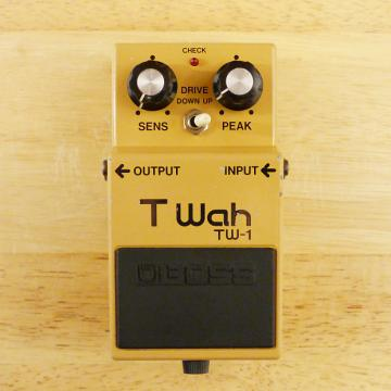Custom Boss TW-1 T-Wah - Touch Wah - Vintage MIJ Japanese Auto Wah Guitar Effect Pedal - VG to EX Cond.