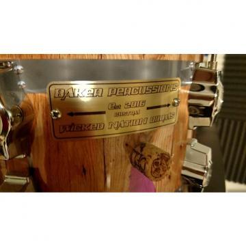 Custom Baker Percussion Wine Barrel  12x8 Custom tom