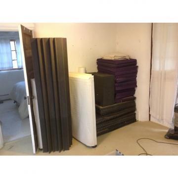 Custom Auralex Acoustic foam 2008 Gray and purple
