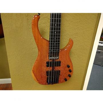 Custom Modulus Quantum Fretless 5-String Electric Bass N/A Lacewood