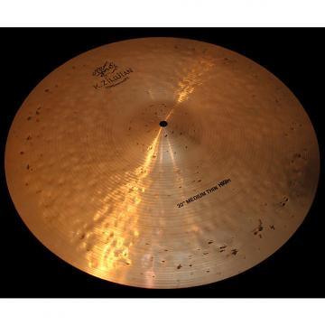 "Custom Zildjian K Constantinople 20"" Medium Thin Ride High K Con Cymbal (2095g) w/ VIDEO!"
