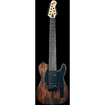 Custom Michael Kelly 508 Striped Ebony 8-string electric guitar - NEW