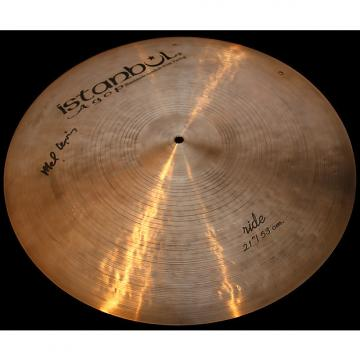 "Custom Agop Mel Lewis 21"" Ride Cymbal Jazz Sizzle (2164g) w/ VIDEO!"
