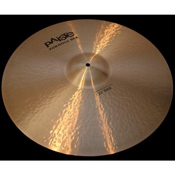 "Custom Paiste Formula 602 Modern Essentials 22"" Ride Cymbal (3035g) w/ VIDEO!"