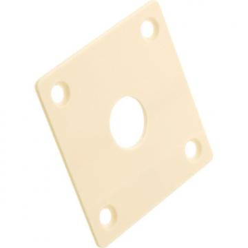 Custom Gibson Historic Output Jack Plate - Creme