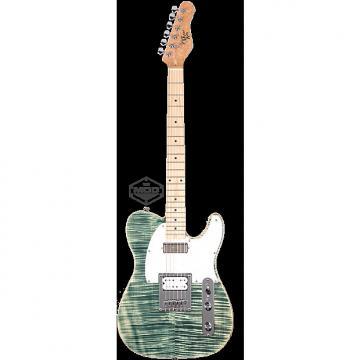Custom Michael Kelly Mod Shop 1955 Flame Blue Jean Wash electric guitar NEW - Seymour Duncan pickups