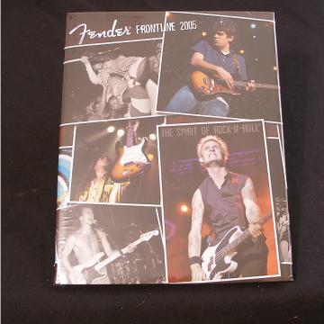 Custom Fender  Frontline Hardcover Book  2005