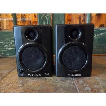 Custom M-Audio Studiophile AV40 AV-40 Studio Monitors Black