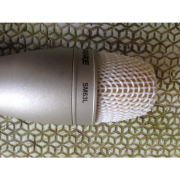 Custom Shure SM63L Silver