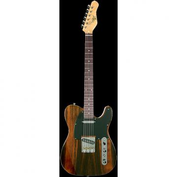 Custom Michael Kelly CC50 Evolution Ebony 1950s series electric guitar NEW - Fishman Fluence Pickups