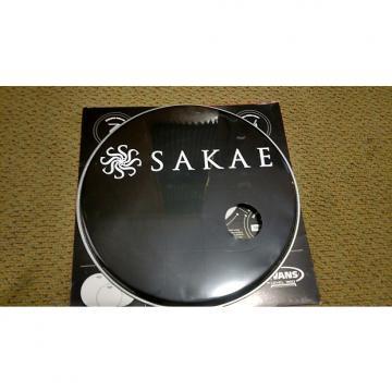 """Custom Sakae 16"""" Bass Drum Head  Black"""