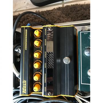 Custom Mark bass Compressore Black/yellow