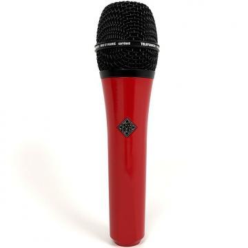 Custom Telefunken M80 Super Charged Dynamic Studio Vocal Live Microphone Red Black
