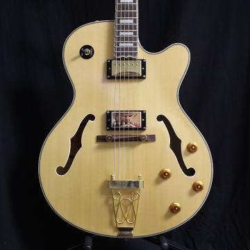 Custom Used Epiphone Joe Pass Emperor II Natural w/case
