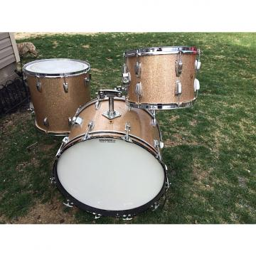Custom 1964 Ludwig Super Classic outfit 13/16/22 in champagne sparkle, matched kit