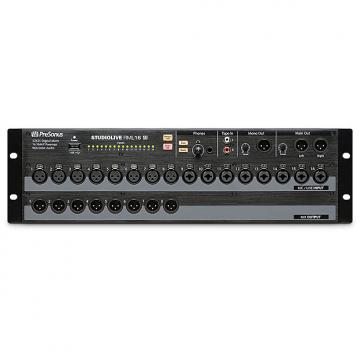 Custom Presonus - RML16AI Studio Live 32-channel, touch-software-controlled, rack-mount digital mixer