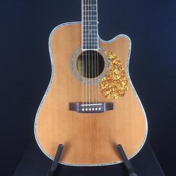 Custom Zager ZAD80CE Solid Cedar/Rosewood Acoustic Electric Pro Series