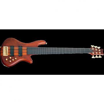 Custom Schecter Stiletto Studio-6 FL Electric Bass Honey Satin