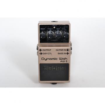 Custom BOSS AW-3 Dynamic Auto-Wah Guitar/Bass Effects Pedal