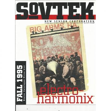 Custom Sovtek-Catalog, Fall 1995